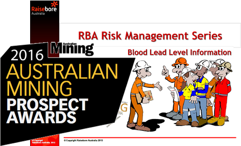 Prospect Awards Finalist 2016 Excellence in Mine Safety, OH&S
